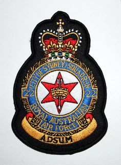 Are you looking for the military patches? Shop the 22 Squadron Crest Patch for a good price. Football Mexicano, Royal Australian Air Force, Patch Shop, Military Insignia, Flag Patches, Royal Air Force, Brand Identity Design, National Flag, Crests