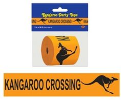 Decorate your Australian Outback theme or down under theme party with this Kangaroo Crossing Poly Decorating Material. Royal Family Kids Camp, Australian Party, Farewell Parties, Vbs Crafts, Australia Day, Vacation Bible School, Thinking Day, Camping Gifts, Birthday Board