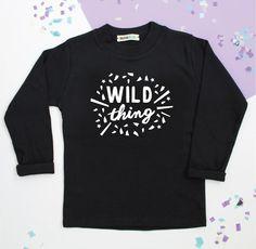Our Wild Thing t-shirt £12.50 www.lennieandco.bigcartel.com