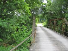 """Photo from """"Mac's Local Buys"""" in MO. Looks like the bridge we used to play on as kids in MA. Memories."""