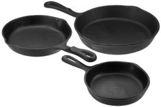 Universal Housewares Pre-Seasoned Cast Iron 3 Piece Skillet… Universal Housewares Reg $49.99 ON SALE NOW  $24.99