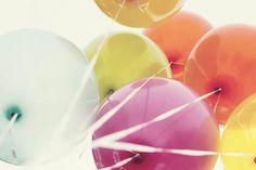 birthday balloons. fun!!