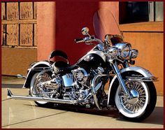 Slammed and chromed. Doesn't have that stupid 20 inch front wheel, so this is a plus in my book.