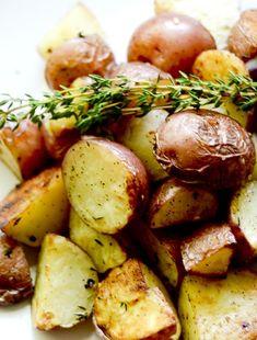 Garlic Roasted Potatoes - Recipe Diaries