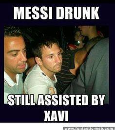 Drunk Messi Looks Hot