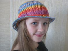 Crocheted vintage summer sun hat by Spillija on Etsy, $25.00