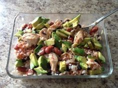 Quick, Easy, Healthy Lunch www.eringrieger.com