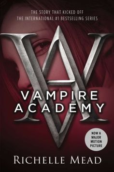 """""""Vampire Academy"""" by Richelle Mead. Vladimir's Academy isn't just any boarding school.It's a hidden place where vampires are educated in the ways of magic and half-human teens train to protect them. Opens in February Vampire Academy Books, Vampire Books, Good Books, Books To Read, Big Books, Rose Hathaway, Zoey Deutch, Young Adult Fiction, Kindle"""