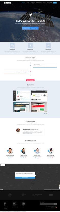 Motion single page psd web template for free download free this post is a roundup of latest free web elements from january this includes latest ui kits free fonts free icons mock up templates free web templates pronofoot35fo Gallery