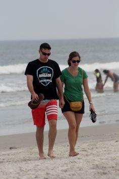 Love on Jacksonville Beach . Jacksonville Beach, Us Beaches, Amazing Photography, Florida, Running, The Florida, Racing, Keep Running
