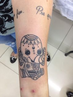 Tattoo elefantinho