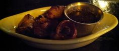 Bacon Wrapped Dates w/ Honey Worchestire Sauce
