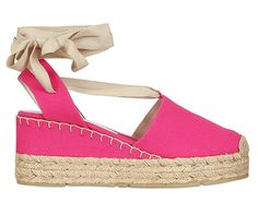 Soft espadrilles for summer.