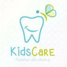 Kids Care Dentistry Designed by Moonley Dental Clinic Logo, Dentist Logo, My Dentist, Dental Humor, Pediatric Dentist, Dental Kids, Dental Care, Teeth Logo, Dental Office Design