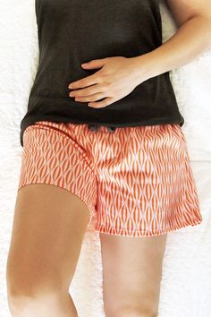 Sommer Shorts mit Schnittmuster