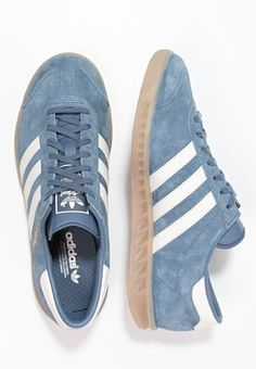 promo code 4c70f eb540 Sneakers laag adidas Originals HAMBURG - Sneakers laag - tech inkoffwhite  Donkerblauw €