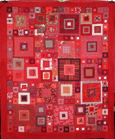 quilt of reds