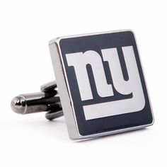 Black Series New York Giants Cufflinks, NCAA College University Cufflinks by Cufflinksman