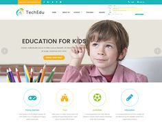 Techedu - Education Bootstrap Template by DevItems