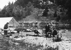 Cooking at Au Sable Forks, New York, 1916   Flickr - Photo Sharing!
