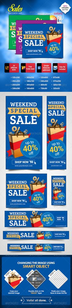 Web Banners for Special Sales Template PSD | Buy and Download: http://graphicriver.net/item/banners-for-special-sales/7033885?WT.ac=category_thumb&WT.z_author=BannerDesignCo&ref=ksioks