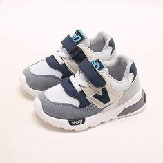 517d761ab1aa Moda europea cool girls boys sneakers Toda la temporada transpirable bebé  niños de alta calidad deportes