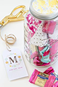 Mother's Day DIY - Pampering Gift in a Jar   My Baking Addiction