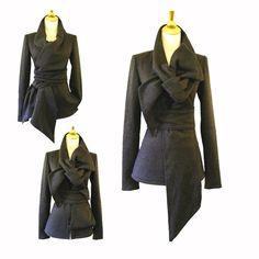 Storm Grey Fleece Knit jacket 158$