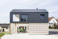 *하이브리드 하우스 [ Fabian Evers Architecture and Wezel Architektur ] Haus Unimog :: 5osA: [오사]