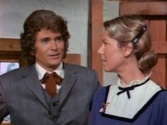 Charles & Caroline Ingalls in Season 4 of Little House.