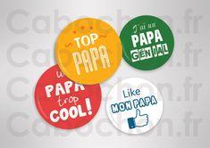 Super Papa ☆ 60 Images RONDES – Cabochon.fr ® Super Papa, Image Digital, Scrapbooking, Burger King Logo, Images, Logos, Creative Art, Logo, Scrapbooks