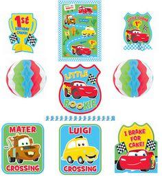 Disney Cars 1st Birthday Decorating Kit