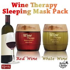 Holika Holika Red Wine Wine Therapy Sleeping Mask Pack 120ml | eBay