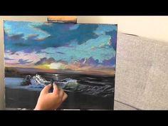 My Time lapse soft pastel drawing - رسمتي السريعه بأستعمال الباستيل الطباشيري Download - YouTube