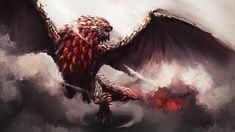 Monster Hunter Series, Monster Hunter Art, Monster 2, Fantasy Monster, Elder Scrolls Dwemer, Types Of Dragons, Monster Drawing, Cool Themes, Fantasy Creatures