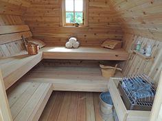 People have been enjoying the benefits of saunas for centuries. Spending just a short while relaxing in a sauna can help you destress, invigorate your skin Sauna House, Sauna Room, Rustic Saunas, Diy Sauna, Portable Sauna, Traditional Saunas, Outdoor Sauna, Sauna Design, Finnish Sauna
