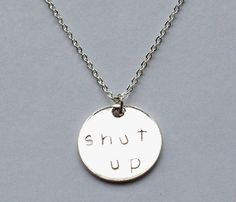 Two Sided Charm Necklaces: Awesomeness.