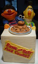 Sesame St. Cookie Jar  a favorite of the past!