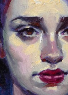 """Polychrome"" (close-up), John Larriva art Figure Painting, Painting & Drawing, Art Sketches, Art Drawings, Drawn Art, Guache, Life Drawing, Portrait Art, Face Art"