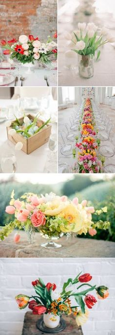 February 22, 2016 Are you ready to add a dose of spring to your big day? When we mention spring flowers, tulips are probably on everyone's list. Although you may know them best blooming in your ...