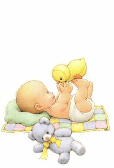 Mis Patrones Ruth Morehead® - Album nº 07 - Bebés Baby Images, Baby Pictures, Cute Pictures, Clipart Baby, Scrapbook Bebe, Baby Illustration, Baby Art, Cute Drawings, Cute Art