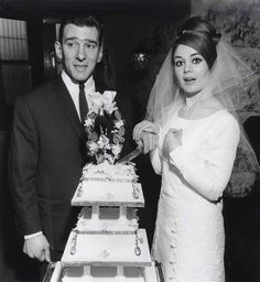 Reggie Kray; Frances Shea by David Bailey 1965
