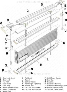 honeycomb cellular shade mounting bracket installation example top down bottom up cellular shade diagram when fixing your top down bottom