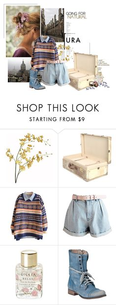"""""""Flowers in the City"""" by svenjadobbert on Polyvore featuring Mode, Pier 1 Imports, Lollia, Steve Madden und Anna Sui"""