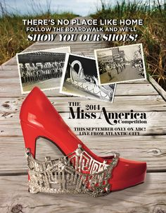 The return of the Miss America Pageant in Atlantic City with its Show Us Your Shoes parade.
