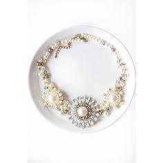 Jewel Cluster Necklace - New Arrivals