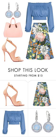 """""""Untitled #1672"""" by styledbytjohnson on Polyvore featuring Christian Louboutin, Marni, Brilliance and Aevha London"""
