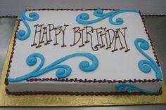 Happy Birthday Sheet Cake by Stephanie Dillon, LS1 Hy-Vee