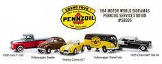 1:64  MOTOR WORLD DIORAMAS - PENNZOIL SERVICE STATION  #Greenlight