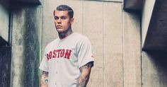 Model Stephen James for Majestic Athletic